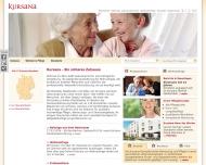 Bild Webseite Kursana Residenz Betreutes Wohnen für Senioren Wedel