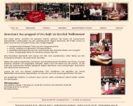 Bild Webseite GRAPPOLO D'ORO Restaurant Köln