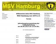 Bild Webseite Mümmelmannsberger Sportverein Hamburg von 1974 Hamburg