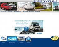 Bild Webseite Reisemobile Beck Köln