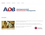 Bild Arbeitsgemeinschaft demokratischer Bildungswerke e.V.