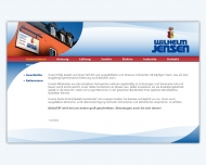 Website Beteiligungsgesellschaft Wilhelm Jensen