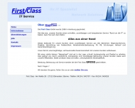 Website first Class IT Service