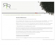 Bild Webseite Resource Recycling Industries Magdeburg