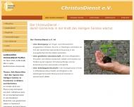 Bild Christusdienst Thüringen e.V.