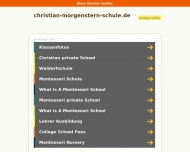 Bild Christian-Morgenstern-Schule Pädagogisch-Therapeutisches Institut e.V.