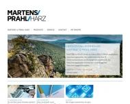 Bild Webseite Martens & Prahl Versicherungskontor Harzgerode