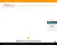Bild Webseite MedForming München