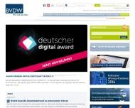 Bild Webseite mediascale Gesellschaft für innovative Medienvermarktung München