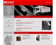 Bild Webseite KM-Express, Klavier- und Möbeltransport Berlin