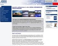 Bild Webseite Nürnberg Ice Tigers Eishockey Nürnberg