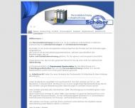 Bild Webseite Personalabrechnung Schober Wedel