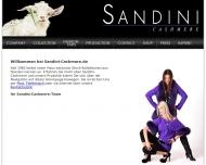 Bild Webseite Sandini-Cashmere München