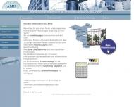 Bild Webseite AMIS Anlagemanagement & Immobilienservice Berlin