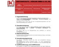 Bild Bautenschutz Fritz Kühlem GmbH