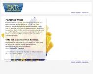 Bild Webseite CKT Food Hamburg