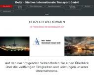 Bild Webseite DELTA-Stallion Internationale Transport Hamburg