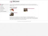 Bild Webseite DMU Consult Ingenieurgesellschaft München