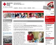 Bild Webseite  Bad Wildungen
