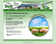 Bild Webseite DUA - Die Umweltagentur Köln
