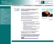 Bild Webseite Dr. Schwab MANAGEMENT Köln