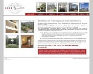 Bild Webseite ECOTEC Immobilien Verwaltung Bremen