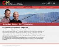 Website Elektro Möller Verwaltungs
