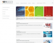 Bild Webseite :em engineering methods Darmstadt