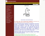 Bild Webseite Elektroschach Inhaberin Heide Ketterling Berlin