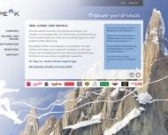 Bild Webseite EMPEAK München