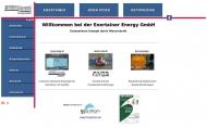 Bild Webseite ENERTAINER Energy Magdeburg