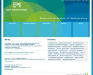Bild E. Pommer Institut für Medienrecht, Medienwirtschaft u. Medienforschung