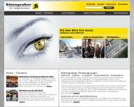 Bild Webseite Ettengruber München