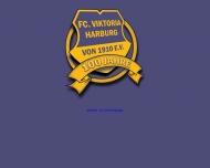 Bild Webseite F.C. Viktoria Harburg von 1910 Hamburg