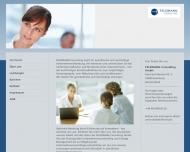 Bild Webseite Feldmann Consulting Hamburg