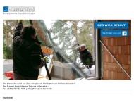 Bild Webseite fenestra Bauelemente Handels Berlin
