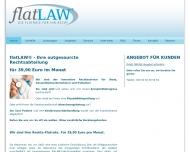 Die Rechts-Flatrate f?r ?rzte, Patienten und Gesundheitsunternehmen - flatLAW
