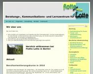 Bild Webseite Flotte Lotte Frauen und Mütter im Berliner Norden Berlin