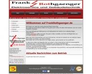 Bild Frank Rothgaenger Elektroservice und Gebäudetechnik GmbH