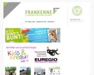 Bild Webseite Frankenne Aachen