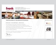 Bild Webseite Frank Gastronomie München