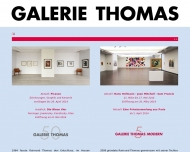 Website Galerie und Edition Raimund Thomas