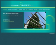 Bild Webseite Gartenservice Hausler München