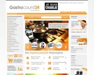 Bild Webseite Gastrocount24 Hamburg