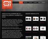 Bild Webseite GCE Gastro Concept & Event Köln
