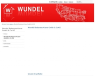 Bild Wundel Bau GmbH & Co. KG Autokrane