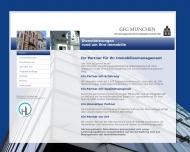 Bild Webseite GFG München Verwaltungsgesellschaft für Gebäudewirtschaft München