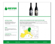 Bild Webseite GOOD GRAPE Wine & Food Trading Düsseldorf