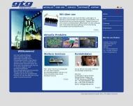 Bild Webseite Goldbright Trading Hamburg