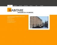 Bild Webseite Habitare Immobilien Hamburg Hamburg